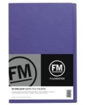 File Master Manila Folders Foolscap Grape 50 Pack