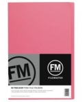 File Master Manila Folders Foolscap Pink 50 Pack