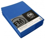 File Master Double Pocket Presentation Folder 50 Pack Blue