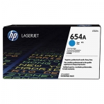 HP 654A Cyan Toner Cartridge