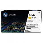 HP 654A Yellow Toner Cartridge