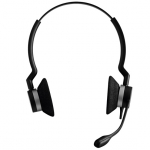 Jabra Biz 2300 UC Duo QD Headset - Quick Disconnect