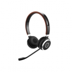Jabra Evolve 65 UC MS Bluetooth Wireless Duo Headset - Optimised for Microsoft Skype for Business