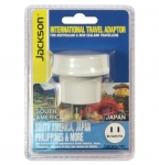 Jackson Outbound International Travel Adaptor for USA, Japan & South America - No Earth Pin