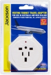 Jackson Inbound Travel Adaptor with Surge Protection for Converting USA, UK & Japanese Plugs to NZ & Australia
