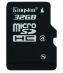 Kingston Class 4 32GB MicroSDHC Card