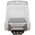 Kingston DataTraveler 64GB microDuo 3C - Dual interface for USB Type-A and Type-C