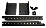 Rextron 19Inch Rackmount Kit for KNV116D KVM Switch BLACK