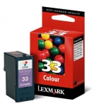 Lexmark #33 Tri-colour 18C0033 Ink Cartridge