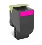 Lexmark 808HME High yield Toner Cartridge - Magenta