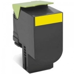 Lexmark 808HYE High yield Toner Cartridge - Yellow