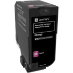 Lexmark CX725 Magenta High Yield Toner Cartridge