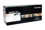 Lexmark E260A11P Black Toner Cartridge