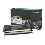 Lexmark C736H1KG Black Return Program Toner Cartridge