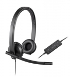 Logitech H570e USB Stereo Noise Cancelling Headset