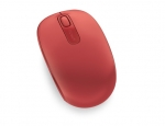 Microsoft 1850 Wireless Optical Mouse - Flame Red