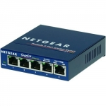 Netgear ProSafe 5-port Gigabit Ethernet Desktop Switch 10/100/1000 Mbps GS105