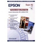 Epson S041328 A3+ Premium Semigloss Photo Paper  20 Sheets