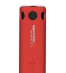 Promate BikerMate Rugged Wireless Speaker with 8000mAh Powerbank & Torch - Red