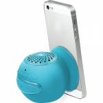 Promate Globo-2 Universal Wireless Mini Speaker with In-Built Mic and Vacuum Base - Blue