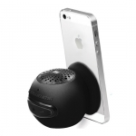 Promate Globo-2 Universal Wireless Mini Speaker with In-Built Mic and Vacuum Base - Black