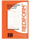 Rediform Invoice/Statement/Delivery Duplicate Book - 50 Leaf