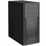 SilverStone PS13B ATX Mini Tower Case Black
