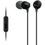 Sony MDREX15APB In Ear Headphone with Smart Phone Control - Black