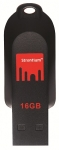 Strontium Pollex 16GB USB 2.0 Flash Drive - Black/Red