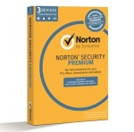 Symantec Norton Security Premium Multi-Device 12 Month Subscription - For 3 Devices + $20 Cashback