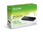 TP-Link UH720 7 Port USB 3.0 Hub Powered with 2 Charge Ports