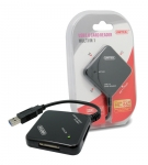 UNITEK USB Multi Card Reader - 4 Slots