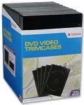 Verbatim DVD Video Trim Case 25 Pack