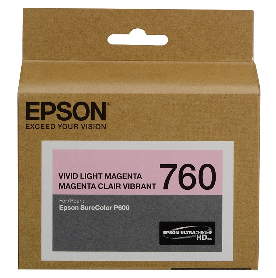 Epson UltraChrome HD 760 Vivid Light Magenta Ink Cartridge