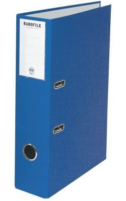 File Master A4 Radofile Lever Arch File Blue