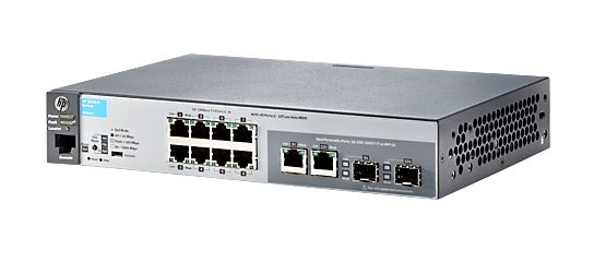 Hp 2530 8 Port Ethernet Manageable Ethernet Switch J9783a