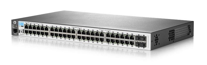 HP 2530-48G 48 Ports Manageable Ethernet Switch 48 x RJ-45 4 x Expansion Slots 10/100/1000Base-T