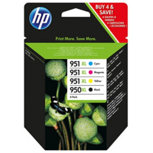 HP 950XL/951XL Ink and Paper Value Pack