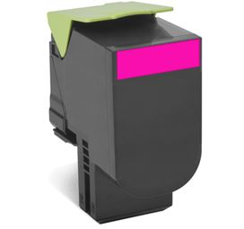 Lexmark 80C8XME Magenta Extra High Capacity Toner Cartridge