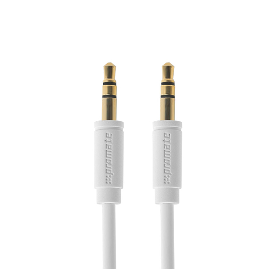 Promate LinkMate-A1 1.5M 3.5mm Stereo Cable - White