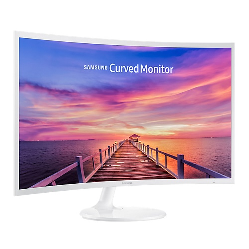 Samsung C32F391FWE 31.5 Inch 1920 x 1080 4ms White Curved Monitor - DisplayPort HDMI