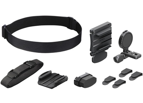 Sony BLTHB1 Action Cam Universal Head Mount Kit