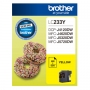 Brother LC233Y Yellow Ink Cartridge