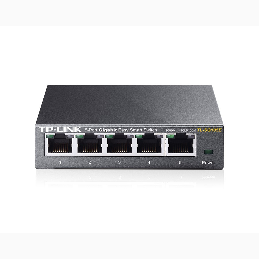 tp link tl sg105e 5 port gigabit easy smart switch elive nz. Black Bedroom Furniture Sets. Home Design Ideas