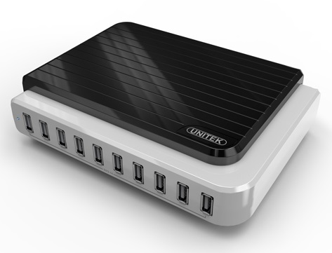 Unitek 10 port USB Charging Station