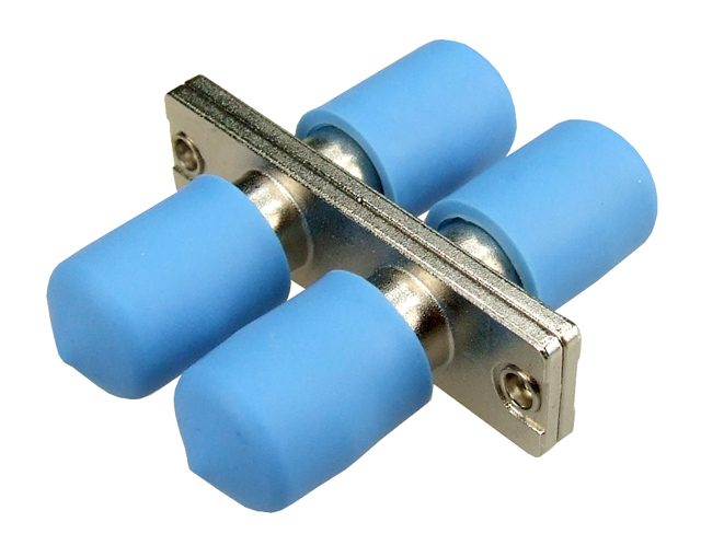 Dynamix Fibre ST to ST Duplex Single-mode Joiner, Ceramic sleeve, Blue Colour