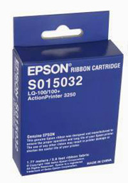 Epson S015032 Black Fabric Riboon Cartridge