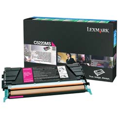 Lexmark C5220MS Magenta Toner Cartridge
