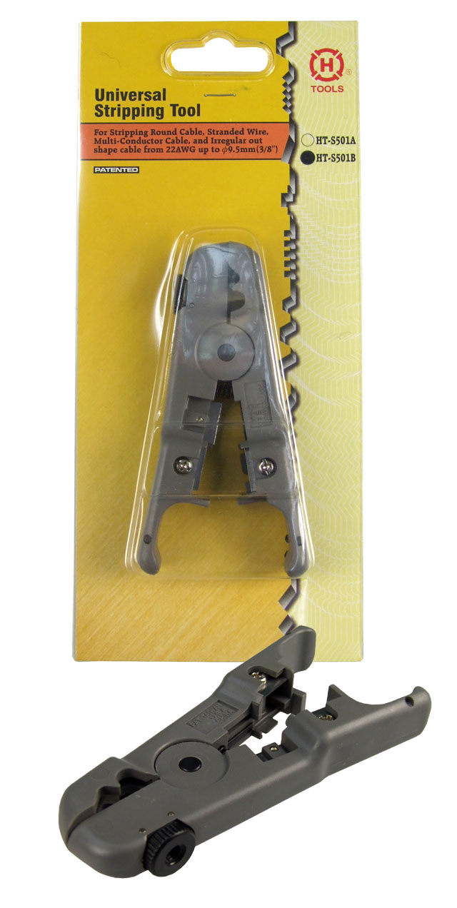 H Tools UTP/STP Cable Cutter & Stripper Thumb Screw for Adjusting Blades
