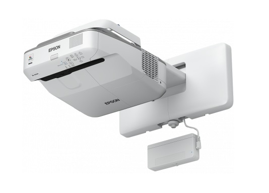 Epson EB-695Wi 3500 Lumen WXGA Ultra Short Throw LCD Projector + FREE Speaker System!